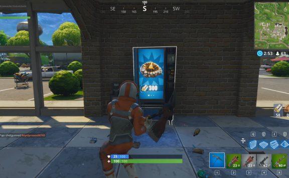 distributori automatici fortnite dove sono